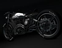 G.U.N.T.E.R Grandsport // Custom Bike