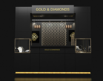 Gold & Diamonds (booth)
