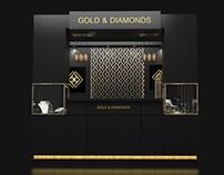 Gold & Diamonds (booth)