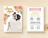 【J&A 7th Anniversary】 Feminine Wedding Collection