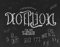 Typographic Deception: The Art of Drawing Ambigrams