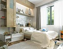 EL Rehab Small Bedroom Design