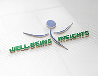 WELL-BEING INSIGHTS Company Logo Design.