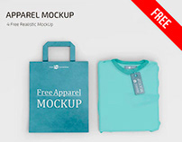 FREE PSD APPAREL MOCKUP TEMPLATES