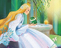 The Frog Prince picturebook