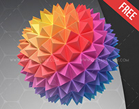 Paper Ball – Free 3d Render Templates