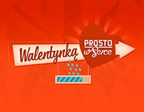 Walentynką Prosto w Serce - TV Series promo website