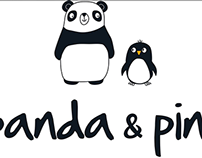 Panda and Ping Branding