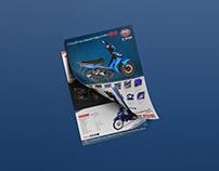 Publication design flyer collection