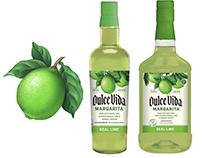 Lime & Grapefruit Illustrations on Dulce Vida Packaging