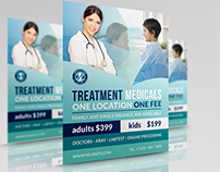 Medical Flyer Template Vol.2