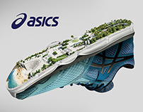 "ASICS ""RUN LONG"" Urban"