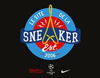 // Blason et typographies pour LeSiteDeLaSneaker.com //