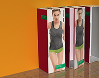 Undercolors Active Wear Packaging