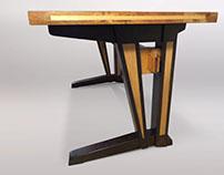 Trestle Desk (Furniture Build)