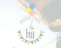 Free -Party&EventPlanner // Brand Identity