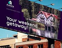 Avesta Hotel Billboards