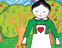 ©The Grandmother Quitéria's Farm - the colouring book