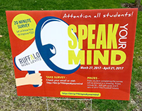 Speak Your Mind Campaign