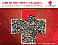 #yocorroporlacruzroja