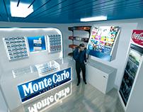 Monte Carlo Shop branding Design