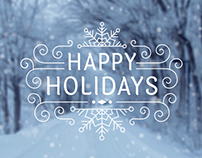 2015 Holiday Email
