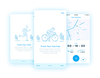 Cycling and Running Tracking App
