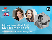 Adobe Live from the sofa UK with Olly Burn