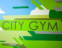 City Gym hallway