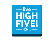 KLM Live High Five!