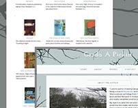 """Gerda A Pickin"" - Website Design"