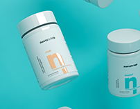 Novum.Lab - Branding and Packaging