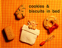 cookies & biscuits in bed
