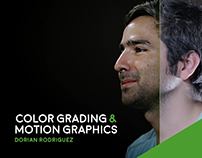 Color Grading and Motion Graphics for MOD