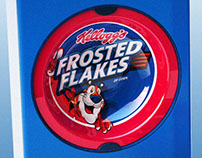 Kelloggs - Reusable Lunch Cereal Box