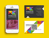 Marquee Event Company Corporate Identity