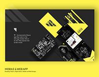 Fitness App. UI/UX