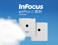 InFocus airPro – Air Detector Product Website
