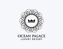 Logo Design: Ocean Palace Luxury Resort