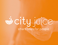 City Juice - Logo & Web