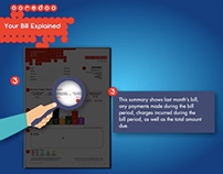 Ooredoo - view your bill animation
