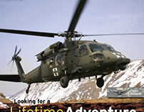 US Army AMEDD Recruiting Collateral