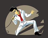El tupé de Elvis