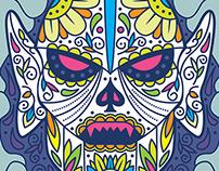Los Amos Del Universo: Hordak Sugar Skull