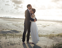 Wedding in Denmark - Fanø at the beach