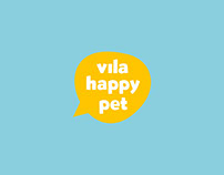 Identidade visual para Vila Happy Pet
