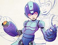 Mega Man - Redesign