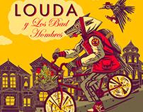Louda y Los Bad Hombres - EP art