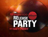 iHeartRadio Album Release Branding