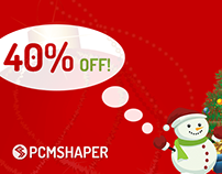 Christmas Discount 40% OFF Joomla and WordPress Coupon